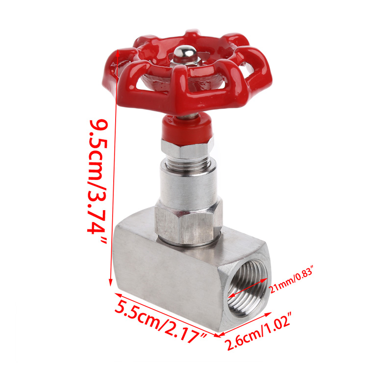 1/2 DN15 Stainless Steel 304 High Pressure Needle Valve Female Thread J13W 160P W315 pezzo pezzo pnlpp21671 160p