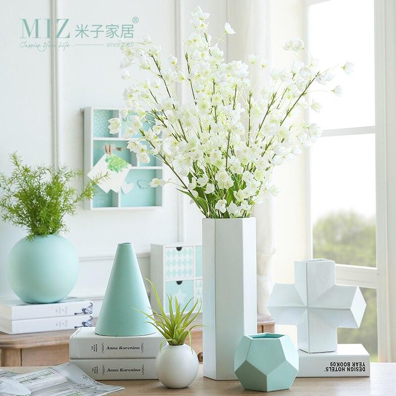 Miz 1 Piece Modern Vases Geometric Plant Pot Home