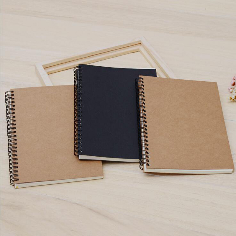 Sketchbook Diary Drawing Painting Graffiti Small 12*18cm Soft Cover Blank Paper Notebook 3