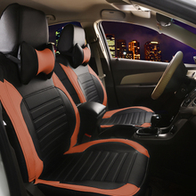 leather car seat covers for MITSUBISHI lancer lancer V3/5/6 Pajero Sport Outlander Pajero V73/77 Grandis EVO IX dx 7 accessories for mitsubishi lancer evo 4 5 6 aluminium radiator rad upgrade 42mm core depth 2 row r107rad