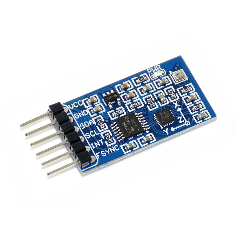 Waveshare 10 DOF IMU Sensor (D), Inertial Measurement Unit, ICM20948 Onboard, Lower Power Consumption, High Precision
