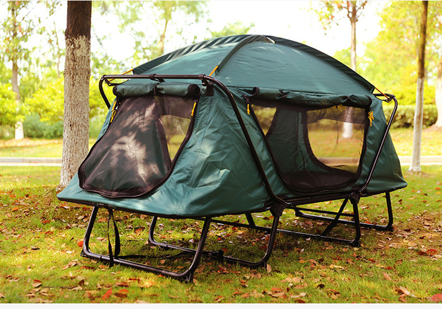 Hot Sale Automatic Smart Tent Off Ground Tent Above Ground WaterProof Outdoor Folding C&ing Bed Tent & Hot Sale Automatic Smart Tent Off Ground Tent Above Ground ...