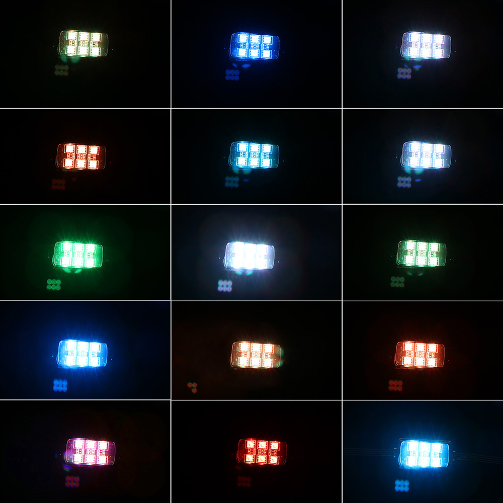 10Pcs-60LED-Remote-Control-LED-Motorcycle-Atmosphere-Lamp-Light-Color-Changing-For-Brake-Lights-Modification-Kit