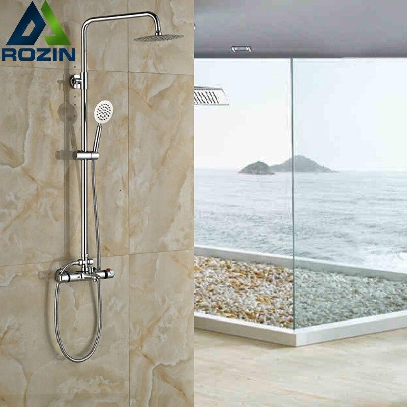 Compra modern shower mixer taps online al por mayor de for Ducha lluvia precio
