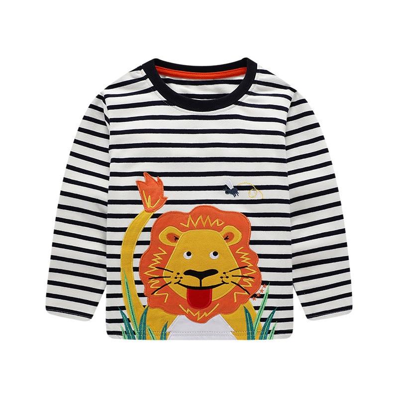 HTB1SCDvdR1D3KVjSZFyq6zuFpXaQ Jumping meters Brand Boys T shirts Baby Clothes Cotton Long Sleeve Tees Cartoon New Cute Boys Girls T shirts Autumn Clothing