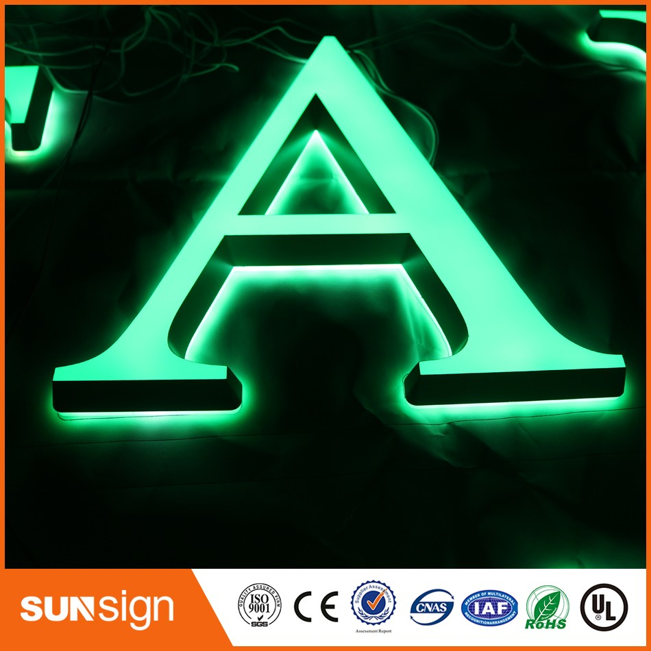 Wholesale Advertising Led The Letter Decorative Luminous Letter