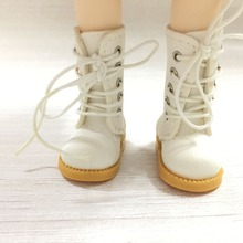 BEIOUFENG BJD обувь высокие сапоги для кукол, 3,8 см кроссовки для кукол, Повседневная парусиновая обувь спортивная обувь для куклы BJD игрушка одна пара