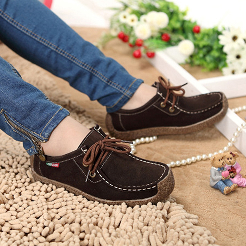 2017 Summer New Fashion Women Flats Comfortable Solid Women Casual Shoes Wild Lace-up Loafers Leisure Warm Ladies Shoes DVT90 yiqitazer 2017 new summer slipony lofer womens shoes flats nice ladies dress pointed toe narrow casual shoes women loafers