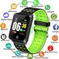 BANGWEI 2019 de moda pulsera deporte reloj de Fitness de la presión arterial de detección de podómetro impermeable reloj de pulsera inteligente