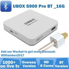 TV BOX Ubox 3 S900 Pro Bluetooth iptv box for Japan Korea Malay SG Thailand Australia NZ ID Vietnam UK Can Ship From UK