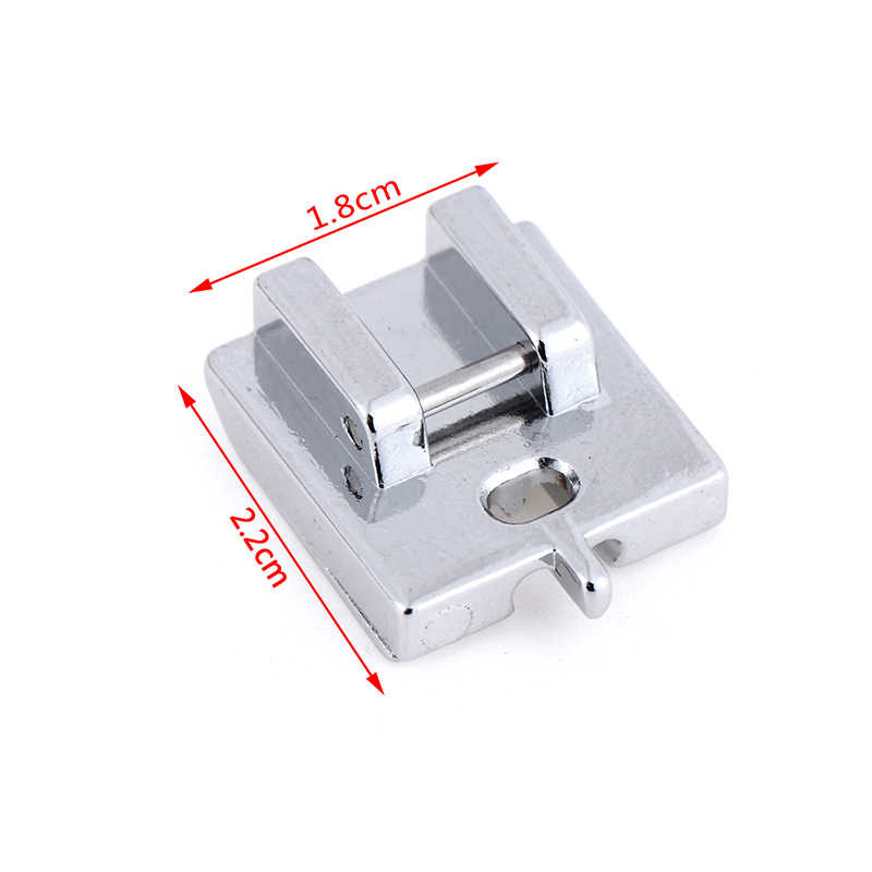 1pc Top Quality Sewing Machine Presser Foot Creative Home Useful Sewing DIY Tools Metal Invisible Zipper Sewing Machine Foot