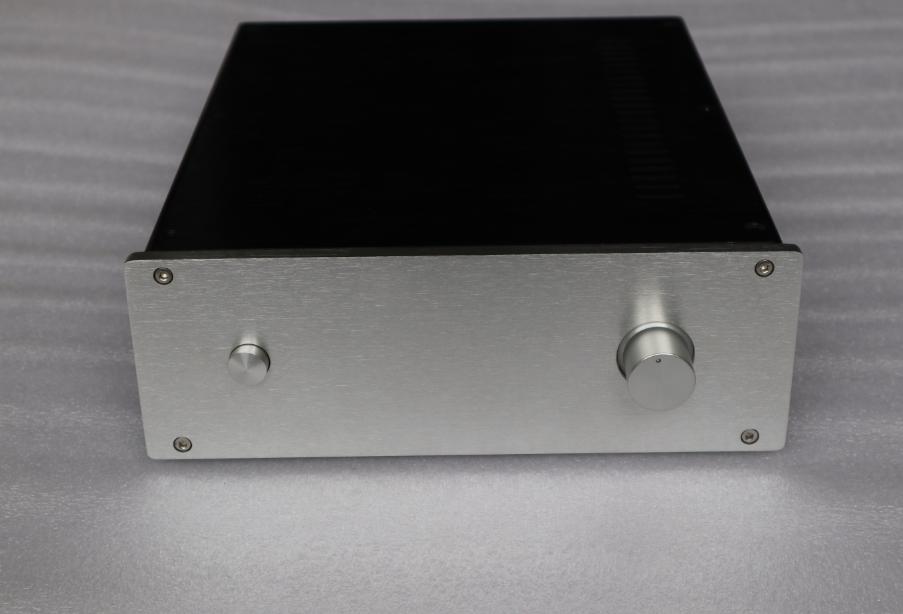 DIY Full Aluminum amp Enclosure Power amplifier chassis 260x90x311mm    L7-24