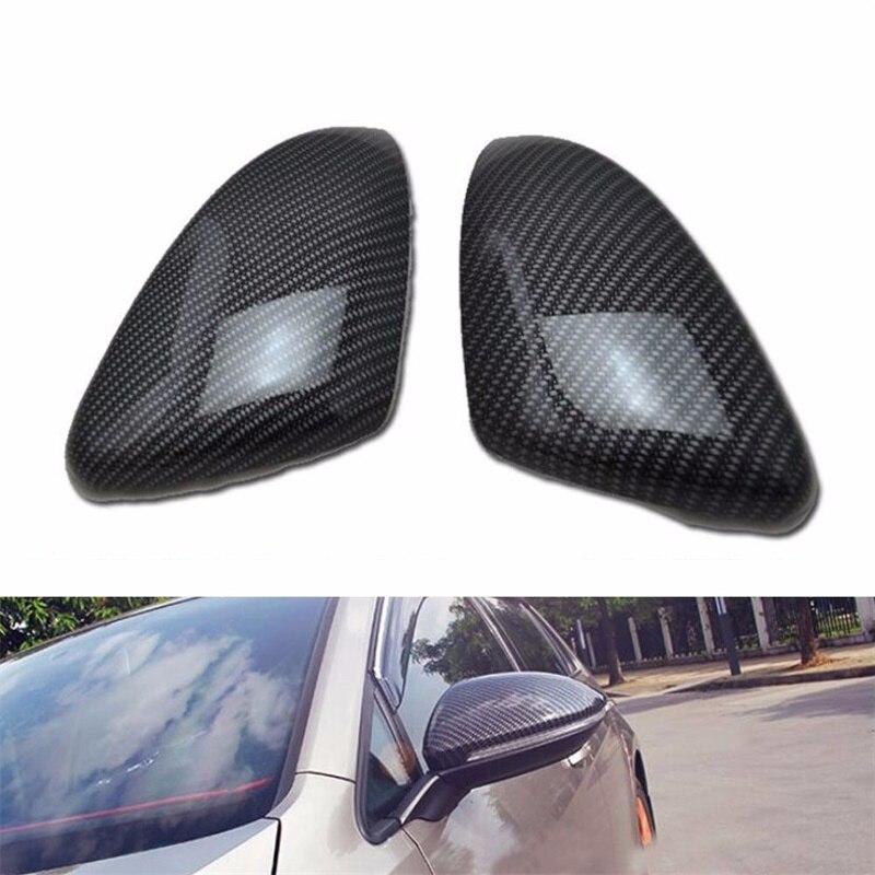 Abaiwai Voiture-Styling Rétroviseur Cover Version Chrome ABS Décoration Accessoires Pour VW Volkswagen Golf 7 MK7 GTI 2014 2015-2018