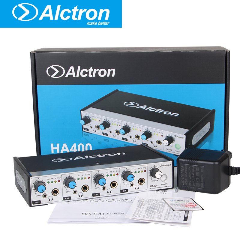 Alctron HA400 professional compact headphone amplifier used in stage , church, studio