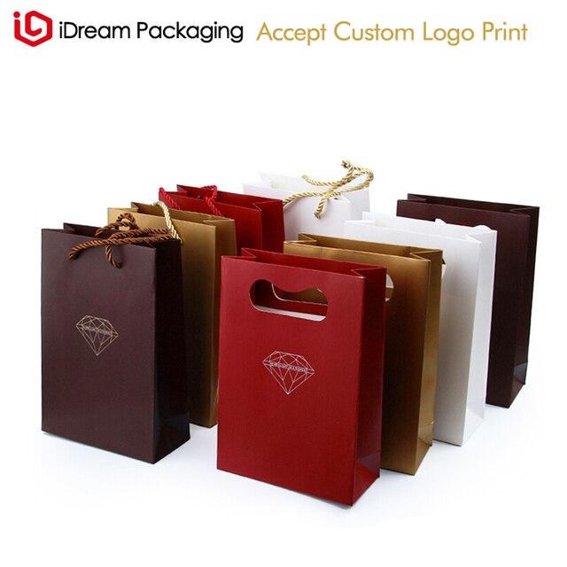 Diamond Design Jewelry Handmade Paper Bag Designs Fancy Paper Gift