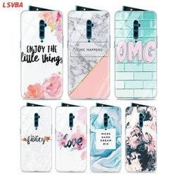 На Алиэкспресс купить стекло для смартфона silicone case chic pink marble fashion for oppo reno z 10x zoom f11 f9 f7 f5 a7 r9s r17 realme 2 c2 3 pro phone shell cover