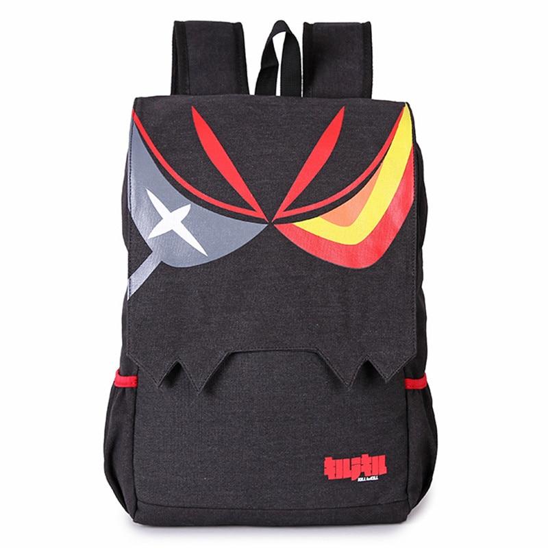 Hot Japan Anime KILL la KILL Matoi Ryuuko Canvas Backpack Unisex Cartoon Laptop/Computer Bag Students Schoolbag Backpacks цена 2016