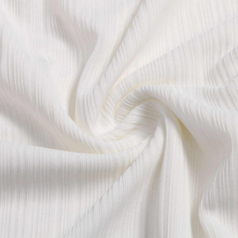 Femmes hauts et chemisiers 2019 mode femmes dames décontracté à manches longues Forking irrégulière hauts Blouse pull chemise femmes vêtements