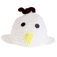 COCKCON Costumes Lovely Chicken Rabbit Baby Newborn Knit Crochet Clothes Photo Prop Outfits Hat Costume