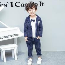 Infant Baby 2019 New Autumn Boys Suits Blazers Fashion White