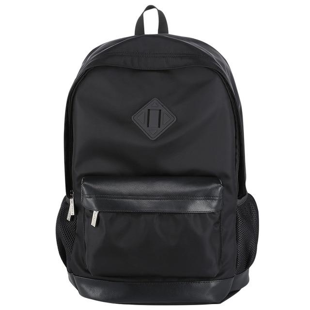 Bopai hombres mochilas mochila hombres mochila de viaje de negocios lighweight negro fresco barato bolsas mochila pequeña mochila impermeable