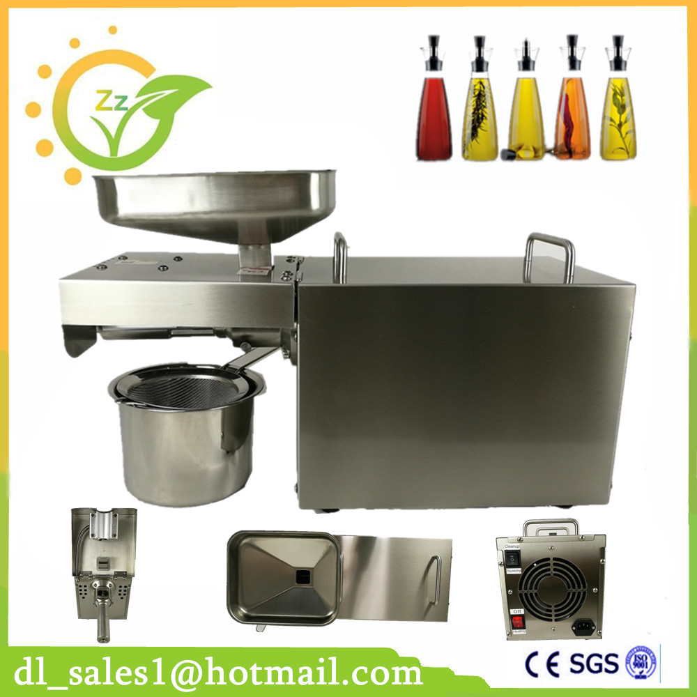 Home Cold Oil Press Machine Sunflower Seed Oil Pressing Machine Small Cold Coconut Oil Machine Press small seed sunflower threshing machine sunflower seeds thresher sheller