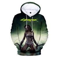 Cyberpunk 2077 Hoodie Sweatshirt Men Women Kid 3d Cyber Punk
