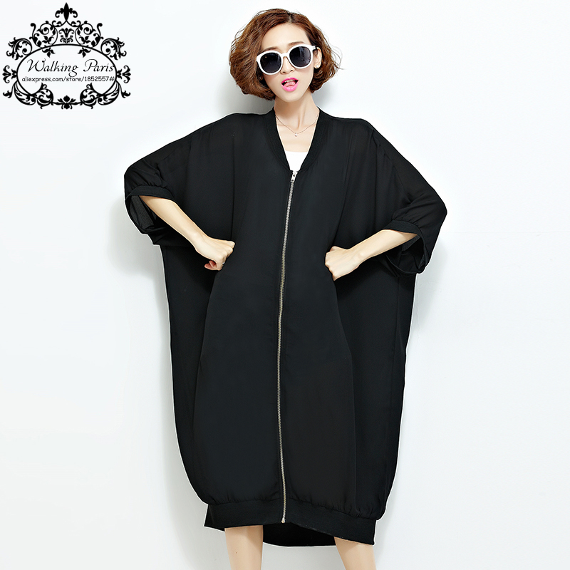 Online Buy Wholesale black summer coat from China black summer ...