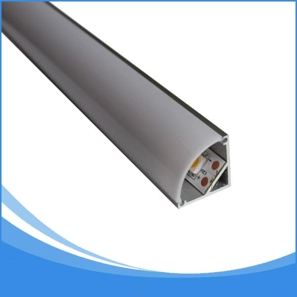 5-20PCS 0.5m length aluminium led profile for corner free shipping led strip aluminum channel housing Item No.LA-LP12A