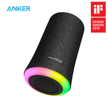 Anker Soundcore Flare Portable Bluetooth 360 Speaker with All-Round Sound Enhanced Bass Ambient LED Light IPX7 Waterproof