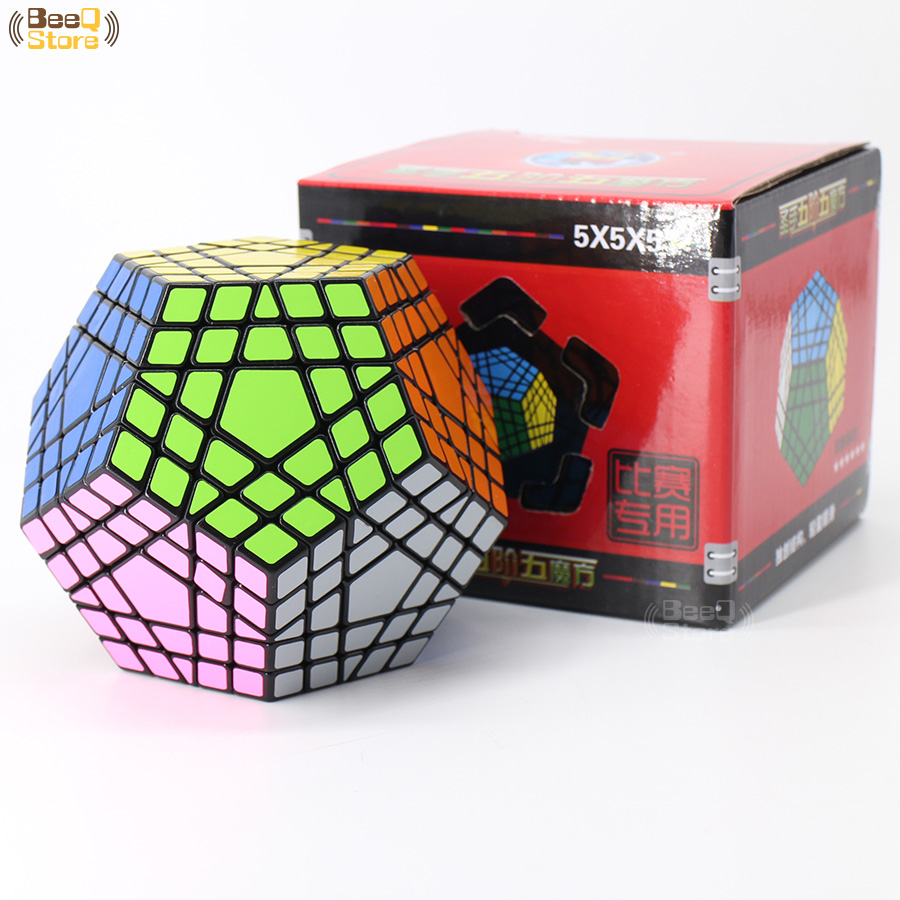 Shengshou Wumofang 5x5x5 Magic Cube Shengshou Gigaminx 5x5 Professional Dodecahedron Cube Twist Puzzle Learning Educational Toys