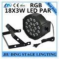 18X3 W LED Par Света RGB PAR led DMX512 управления диско свет профессиональный ди-джей оборудование LED lamplamp