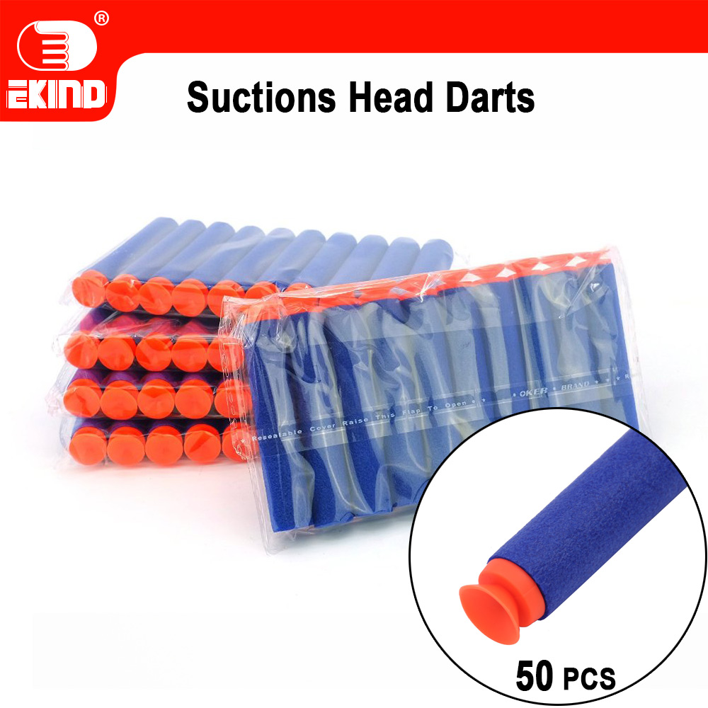 Suction Darts Of EKIND 7.2cm Refill For Nerf Series Blasters Kid Toy Gun