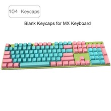104 Key Caps Mixed Dolch Thick PBT Standard Layout Keycap For Cherry MX Mechanical Keyboard Gaming Keyboard Keycap for Gamer