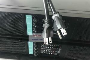 Image 5 - חדש 4 ערוץ מגבר FP10000Q קו מערך מגבר אודיו מקצועי Dj כוח מגבר סאב מגבר ספק כוח