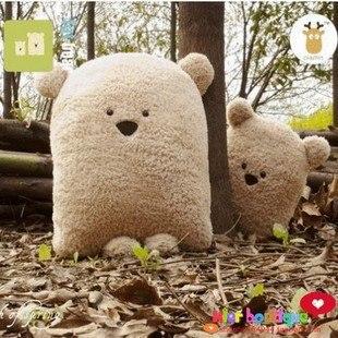 Игрушек! Супер милые плюшевые игрушки Толстая Подушка с медведем мягкая игрушка отец и сын креативный подарок на день рождения 2 шт./партия