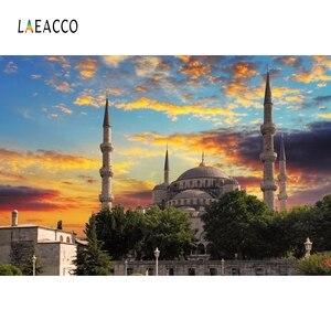 Image 4 - Laeacco Muslimischen Moschee landschaft Architektur Porträt Szene Fotografischen Hintergrund Vinyl Fotografie Foto Studio Hintergrund Wand