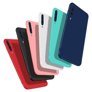 For Samsung Galaxy A50 Case Soft TPU Cover Phone Bags For Samsung A50 A 50 2019