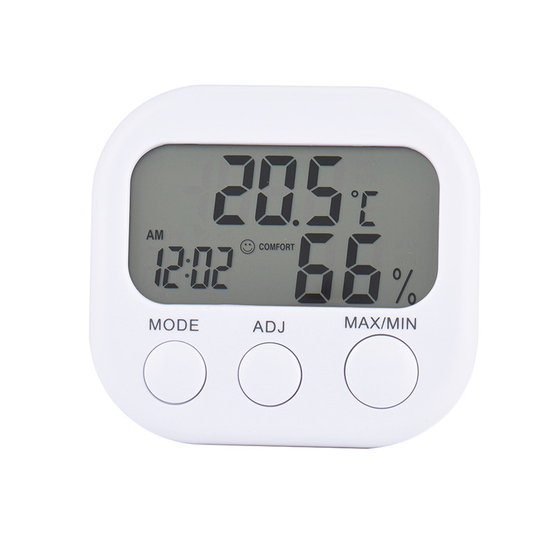 Mini Digital Thermometer Hygrometer Indoor LCD Display Thermo Hygrometers With Stand For Home Wholesale