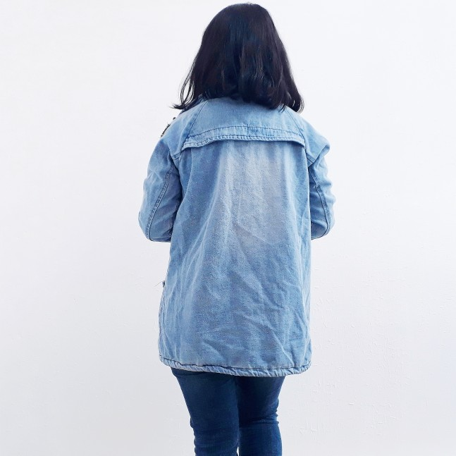 2bbcb69bcb Wipalo Button Up Denim Jacket With Hooded 3XL Jean Plus Size Autumn ...
