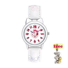 Snoopy official geniune top brand kids Watches Cute Cat Case Fashion Women watch Colorful Cool Quartz Wristwatches girl Clock