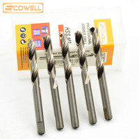 Free Shipping 6 35 74mm Professional 10PACK HSS 4341 Milled Shank Center Drill Bits Arbor Pilot