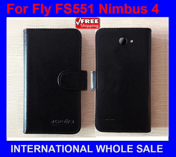 Horký! 2016 Fly FS551 Nimbus 4 Case Factory Cena Kůže Originální Exkluzivní obal na Fly FS551 Nimbus 4 Case tracking number