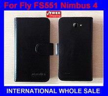 Hot! 2016 Fly FS551 Nimbus 4 Prix Usine Cas En Cuir Original de Couverture Exclusive Pour Fly FS551 Nimbus 4 Cas numéro de suivi