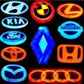 Led car badge lights 4D car logo light for Toyota Honda Kia BMW FORD Audi Hydai and all cars