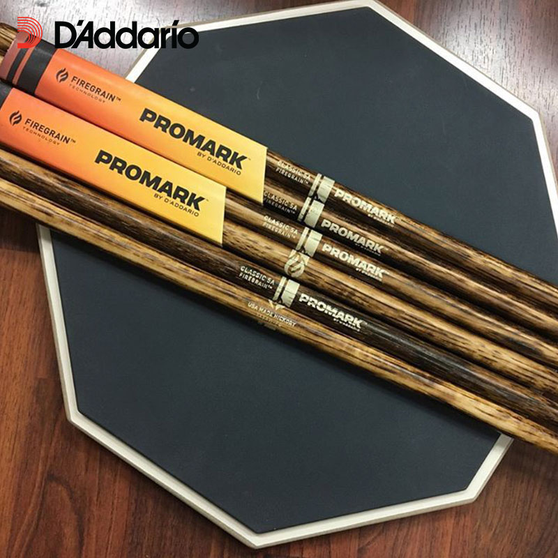 Promark FireGrain American Hickory Pilons-Classique ou Avant/Rebond Sélectionné Système D'équilibre 5A/5B/7A, made in USA