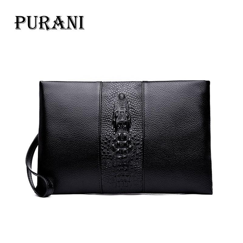 PURANI Purse Clutch-Bag Brand Wallet Monederos Handy Men's Fashion Standard Bags Carteras