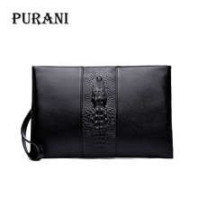 PURANI Brand Wallet Men Clutch Bag Fashion Leather Purse carteras mujer Mens Handy Bags Man Monederos Standard Wallets