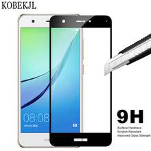 Protetor de Tela Nova de Vidro temperado Para Huawei Huawei Nova CAN-L11 PODE L11 Tela De Vidro De Proteção 9 H Filme Cobertura Completa 5.0 polegadas