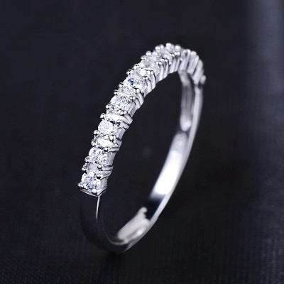 Lose Money Promotion Romantic Forever Love Shiny Zircon 925 Sterling Silver Ladies`finger Rings For Women Jewelry Wedding Gift